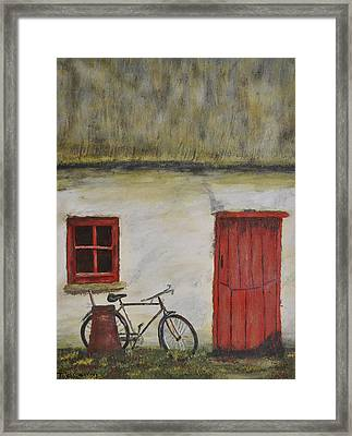 Staying Awhile Framed Print by Teresa Cairns