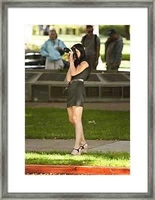 Staying Focused Framed Print by Mark Hendrickson