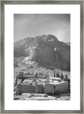 St.catherine's Monastery 4 Framed Print