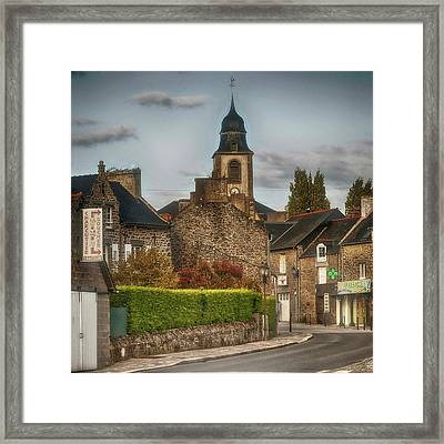 St.coulomb Framed Print