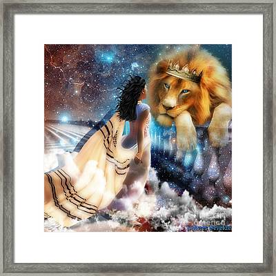 Steadfast Gaze Framed Print by Dolores Develde