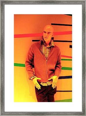 Steady Eddie Framed Print by Jez C Self