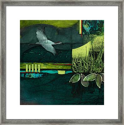 Steady Your Course Framed Print by Laura  Lein-Svencner