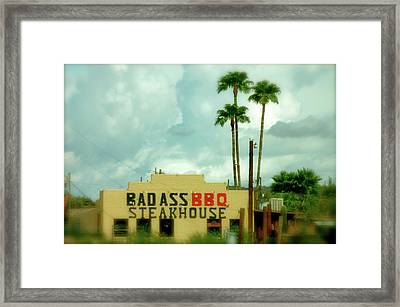 Steak House Framed Print by Kristine Patti