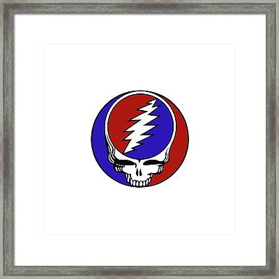 Steal Your Face Framed Print by Gd
