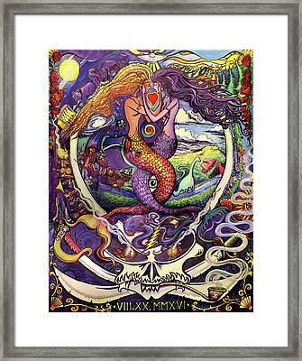 Steal Your Mermaids Framed Print