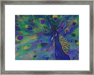 Stealing The Show Framed Print by Joanne Smoley