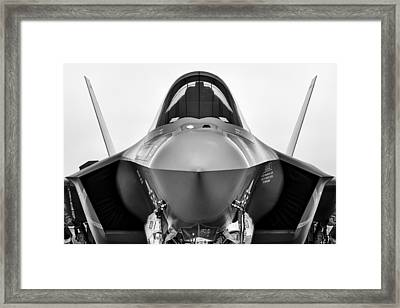 Stealth Lightning Framed Print