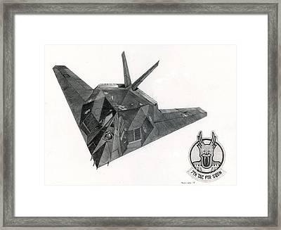 Stealth Framed Print by Mark Jennings