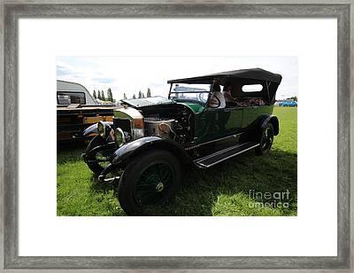 Steam Car Framed Print