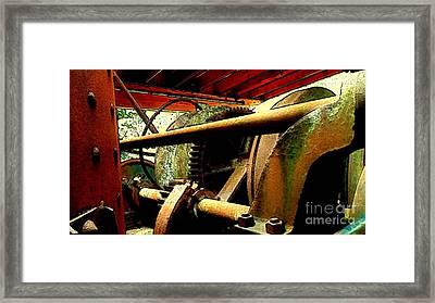 Steam Donkey Framed Print