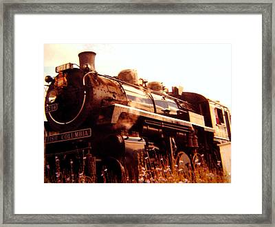 Steam Engine 3716 Framed Print by Will Borden