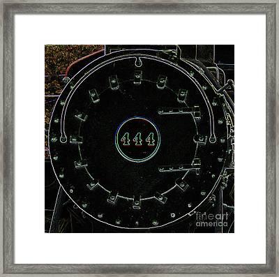 Steam Engine 444 Framed Print by Kim Pate