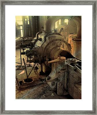 Steam Engine No 4 Framed Print