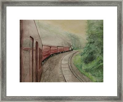 Steam Excursion Framed Print by Diana Prout