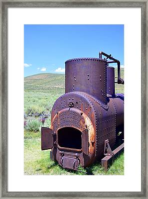 Steam Generator Framed Print