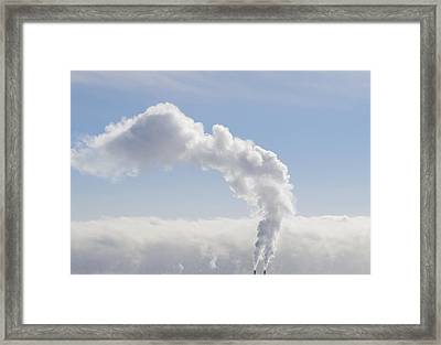 Steam Framed Print