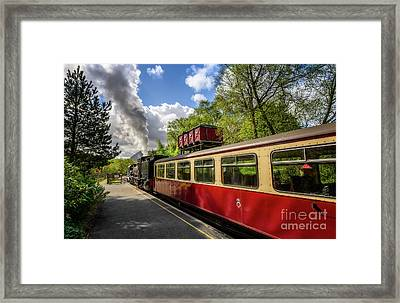 Steam Loco 87 Framed Print by Adrian Evans