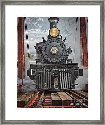 Steam Locomotive Framed Print