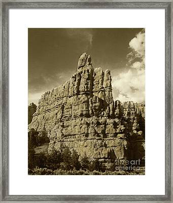 Framed Print featuring the photograph Steam Locomotive by Pete Hellmann