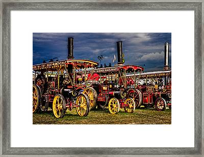 Framed Print featuring the photograph Steam Power by Chris Lord