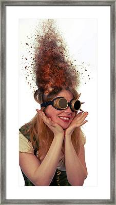 Steam Punk Framed Print by Nichola Denny