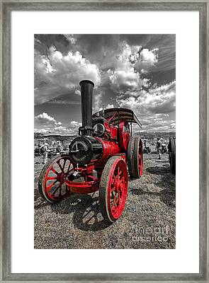 Steam Traction Engine Framed Print by Nichola Denny