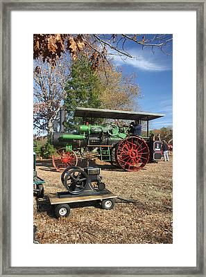 Steam Tractor Framed Print by Kevin  Sherf