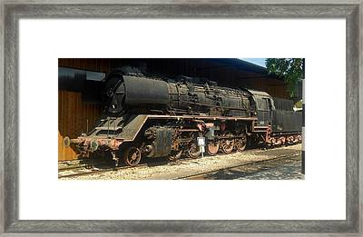 Steam Train  Framed Print