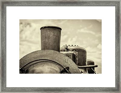 Steam Train Series No 2 Framed Print