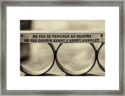 Steam Train Series No 32 Framed Print