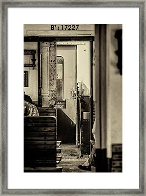 Steam Train Series No 33 Framed Print