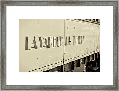 Steam Train Series No 34 Framed Print