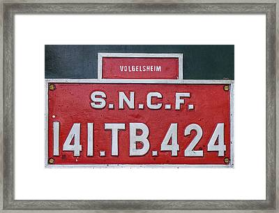 Steam Train Series No 38 Framed Print