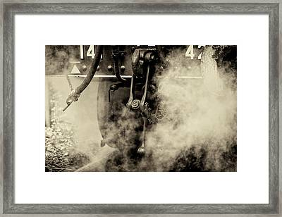 Steam Train Series No 4 Framed Print