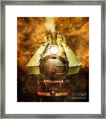 Steam Train Stories Framed Print by Jorgo Photography - Wall Art Gallery
