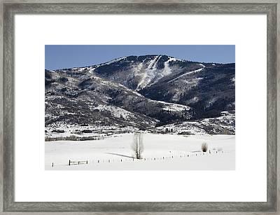 Steamboat - Colorado Framed Print by Brendan Reals