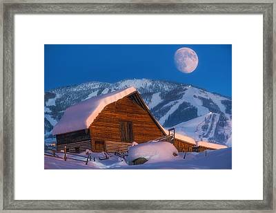 Steamboat Dreams Framed Print by Darren White
