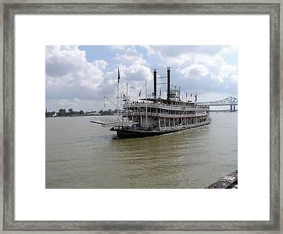 Steamboat Natchez 2 Framed Print by Jack Herrington