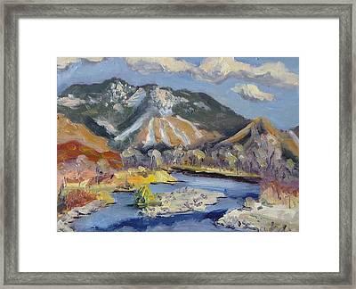 Steamboat Ski Area Framed Print