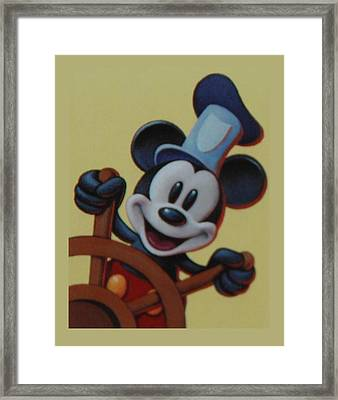 Steamboat Willy Framed Print