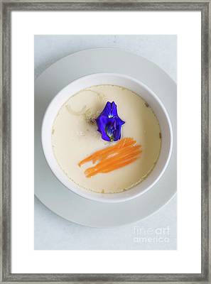 Framed Print featuring the photograph Steamed Egg by Atiketta Sangasaeng