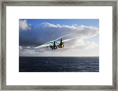 Steamed Framed Print by Peter Chilelli