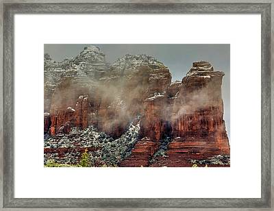 Steaming Coffee With A Little Sugar Framed Print by Donna Kennedy