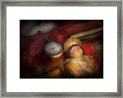 Steampunk - 9-14  Framed Print