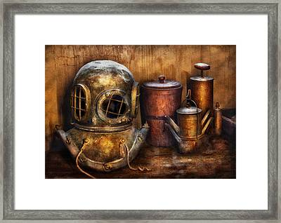 Steampunk - A Collection From My Journeys Framed Print by Mike Savad