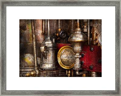 Steampunk - Needs Oil Framed Print by Mike Savad