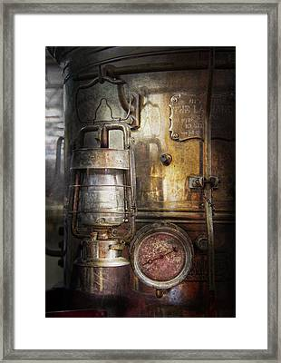 Steampunk - Silent Into The Night Framed Print