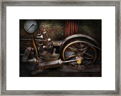 Steampunk - The Contraption Framed Print