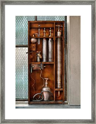 Steampunk - The Invention  Framed Print by Mike Savad